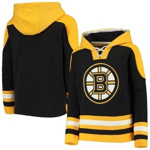 Boston Bruins Ageless Lace-Up Pullover Hoodie 397